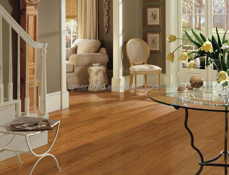 makore 황금 라미네이트 나무 바닥