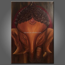 Top Quality Professional Manufacturer Selling High Quality Oil Painting Of Ganesha For Home Wall Unique Decoration