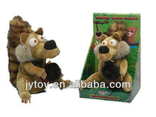 Talking Stuffed Plush Squirrel,Repeat Talking Toys,Newest Products in 2013