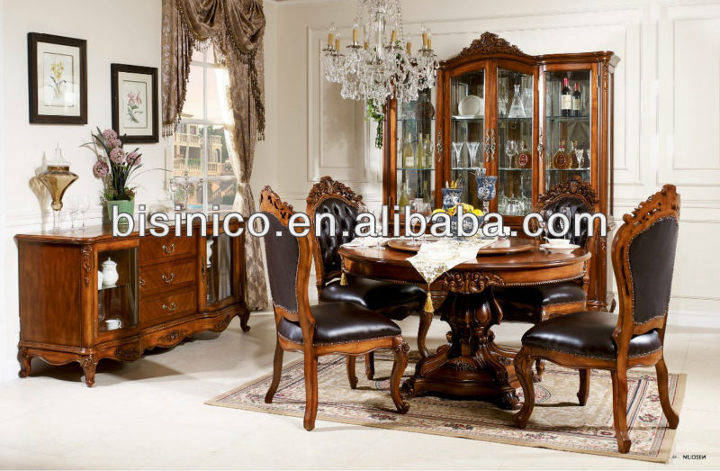 American Classical Soild Wood Dining Room Sets American Style Dining Room Fur