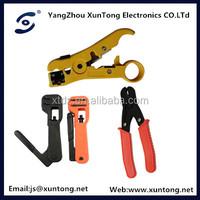 high quality outdoor UTP CAT5e molding network cable crimp tool