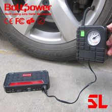 80 PSI tire pump Boltpower G06A 12000mah vehicle starting mobile battery