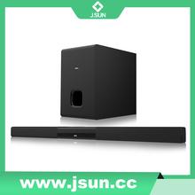 2015 best sell wireless soundbar/ sound bar Bluetooth, Optical, USB FM