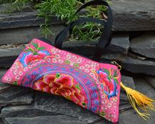 fashion cheap Embroidered handbag Special design folk style Vintage wallet fashion ladies bag