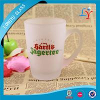 frosted glass mug beer mug glass 7oz frosted beer mug with branded logo