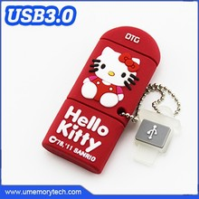 Hello kitty shaped otg pendrive usb otg wholesale mobile phone and computer use otg flash drive