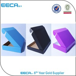 2016 fancy corrugated paper shipping packaging box made in China