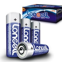 LONCELL Brand newest 1.5v R6 aa um3 carbon zinc battery