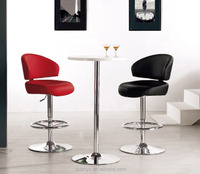 Soft swivel lift bar chair/Fast food dining chair for buffet