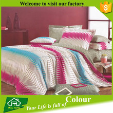 100% cotton bed sheet set for home use