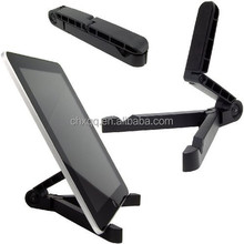 Foldable Adjustable Stand BracketHolder Mount for iPhone iPad PC 2MUB ABS+Silicone Stander for within 10inch Tablet