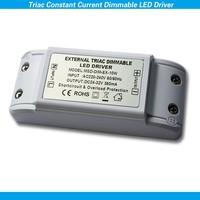 AC 220-240V DC 24-32V 10W TRIAC dimmer driver no flicker no noise 0-100% dimming range driver