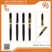 High quality metal engraved pens /promoional thick roller pen