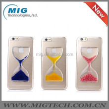 "For iphone 6 plus Hourglass PC hard crystal clear phone cover for iphone 6 5.5"", Mobile phone cover For iphone 6 plus case"