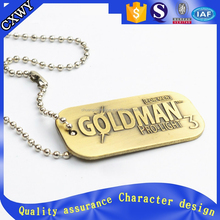 personalized dog tag with necklace