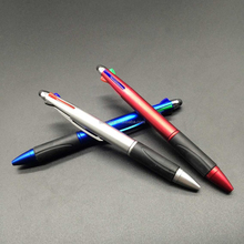 Wholesale plastic new 4 color pens chinese school supplies