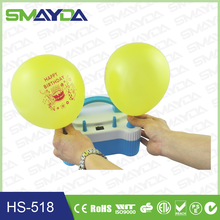 CE CTICK ROHS mini electric balloon pump mother's day decoration