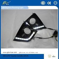 2014 Year 12V LED Lamp Car Led Light/DRL for Toyota Corolla Lamp Car LED Daytime Running Light