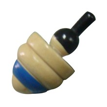 hot sale high quality for all years wooden spinning top toy