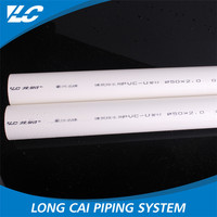 Small diameter High pressure Thick wall pvc pipe wholesale 1 inch pvc pipe