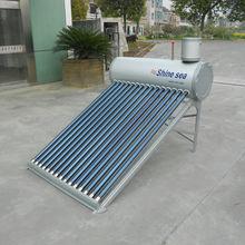 Aluminum Zinc Steel Compact Evacuated Tube Solar Water Heater
