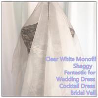 2080 Organza Fabric For Wedding Dress, Bridal Veil, Fashion Design