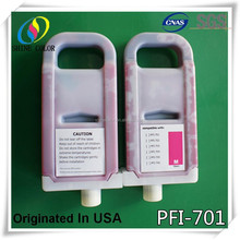 PFI 701 Refillable Ink Cartridge for Canon ipf 8000 8000s 8100 9000 9000s 9100 printer
