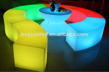led de plástico ajustable sillas de fiesta de edad avanzada