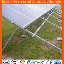 hot dipped galvanized angle iron bracket solar energy equipment