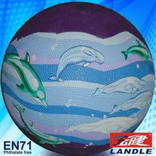 for exporting standard size 7 colorful rubber baset balls or leather basketball supplier