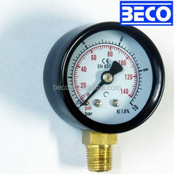 Y-40A Burdon tube/ painted steel case / general pressure gauge