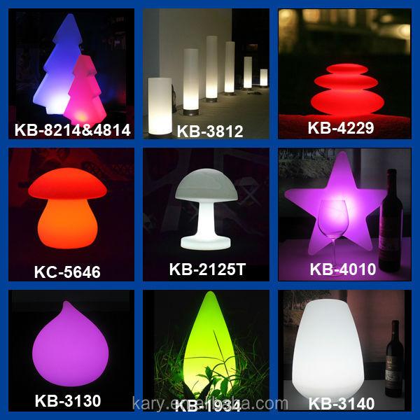 Afstandsbediening rgb kleur gloed plastic led kerstboom kerst decoratie benodigdheden product id - Nachtclub decoratie ...