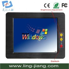 mini pc industrial/embedded touch screen panel pc/mini pc x86(PPC-121C)