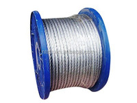 PVC coated wire rope, PVC coated steel cable ,galvanized steel wire rope