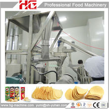 Shanghai HG highly reliable & economic stackable new fried potato chips product line for sale