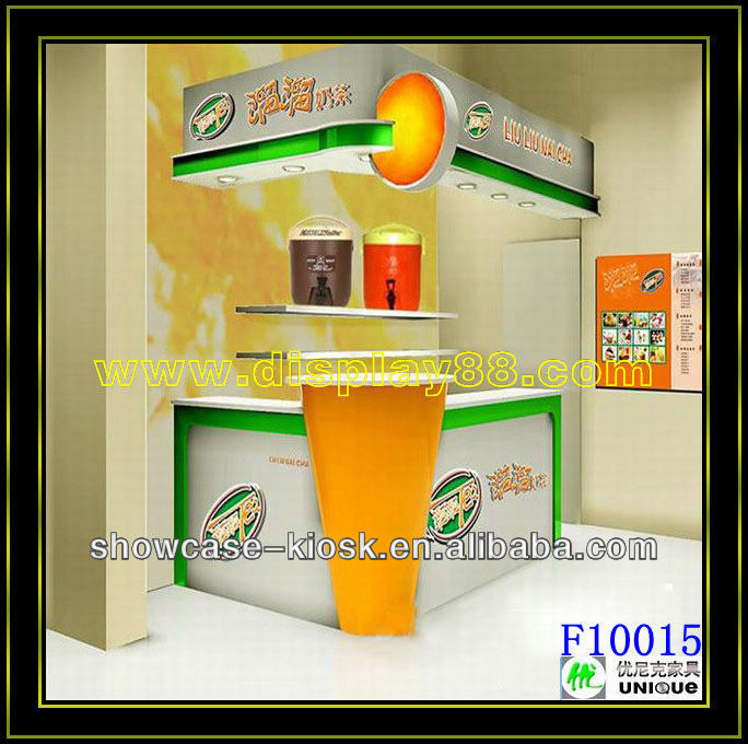2013 mall indoor food kiosk design with factory sale high for Indoor food kiosk design