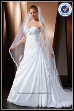 novo design tafetá cetim babados cauda longa casual vestido de noiva modelos de vestidos china alibaba vestido nupcial vestidos