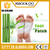 Chinese herbal pain patch disposable sheet gold detox foot patch/foot detox patch