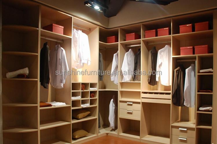 Cheap Modern Wooden Almirah Designs In Bedroom Wall Buy