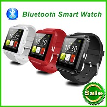 Bluetooth Ver.3.0 Smart Watch MTK U8 WristWatch sport android smart watch phone