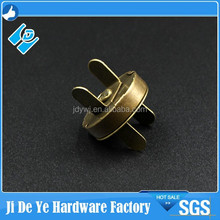 Factory price 4mm Magnetic snap , antique brass strong magnet