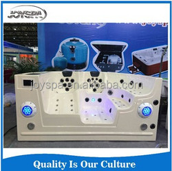 2015 NEW ARRIVAL Luxury Swimming pool combo massage Chair & integrated Filter