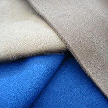 2016 wholesale fashionable suede fabric for clothing/garment