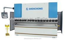 WC67K-100/3200 CNC press brake, tailored Synchro hydraulic press brake , popular for sheet metal working machine distributor