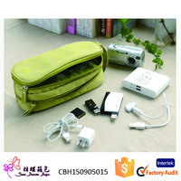 Alibaba China Top Selling New design nylon Mobile Phone Accessories Organizer Case MAN bag in travel or business trip