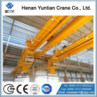 50 Ton QD Double Electric Overhead Crane With Trolley