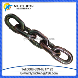 factory low price Standard steel link chain for safty with gunny bag packing