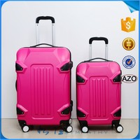 Decent travel trolley luggage bag with removable wheels