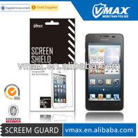 2014 New Arrivel screen protector for Huawei u8833 y300 oem/odm (High Clear)