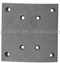 2015new ceramic brake lining WVA19072 ceramic brake lining for heavy duty truck brake lining